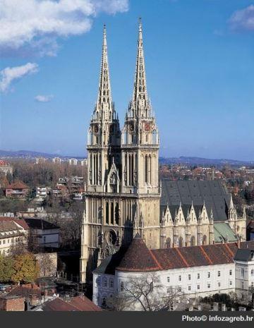 zagreb cathédrale saint Stephane