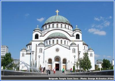 belgrade temple saint sava