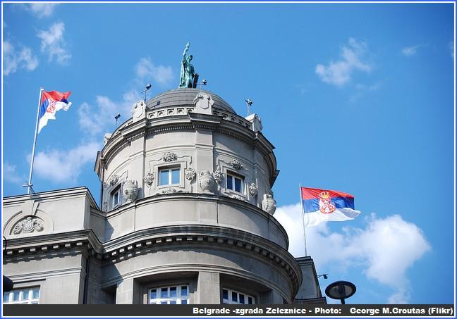 belgrade zgrada Zeleznice