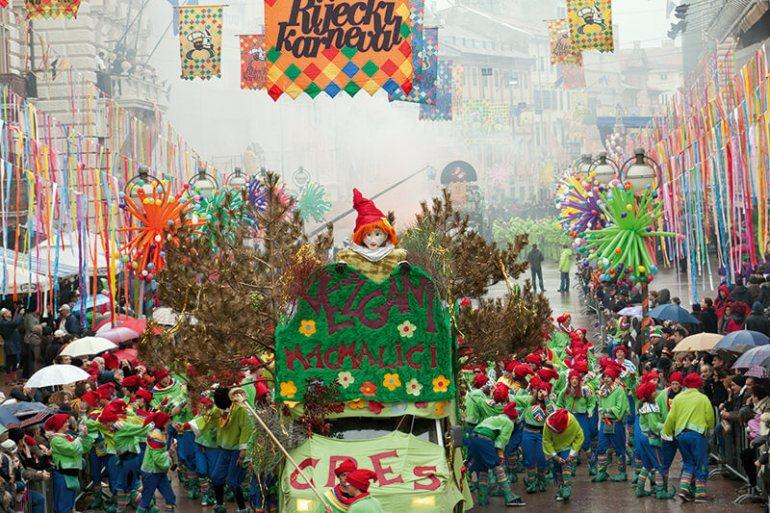 carnaval de Rijeka Croatie