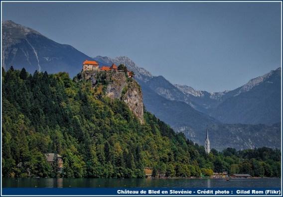 chateau bled slovenie