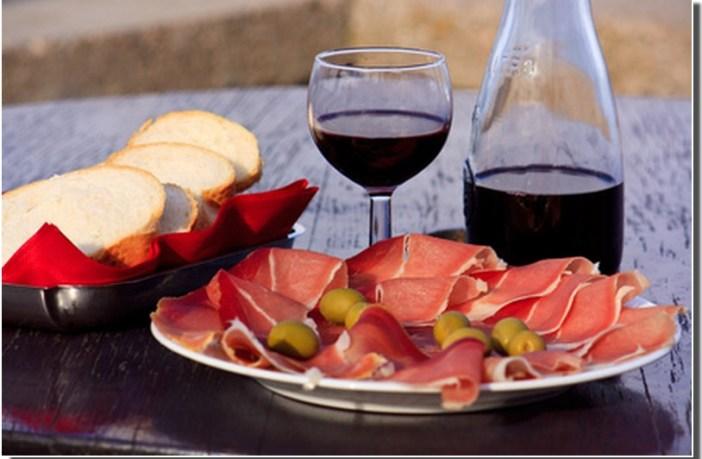 cuisine dalmate jambon prsut et vin croate