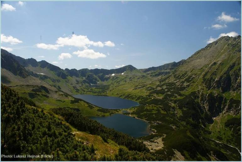 lacs des Tatras polonais