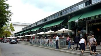 munich entree Schrannenhalle Viktualienmarkt