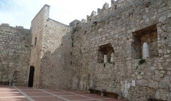 murailles chateau Frankopan à Krk