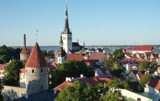 panorama vieille ville de Tallinn