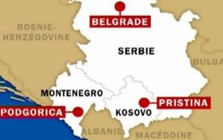 serbie kosovo carte