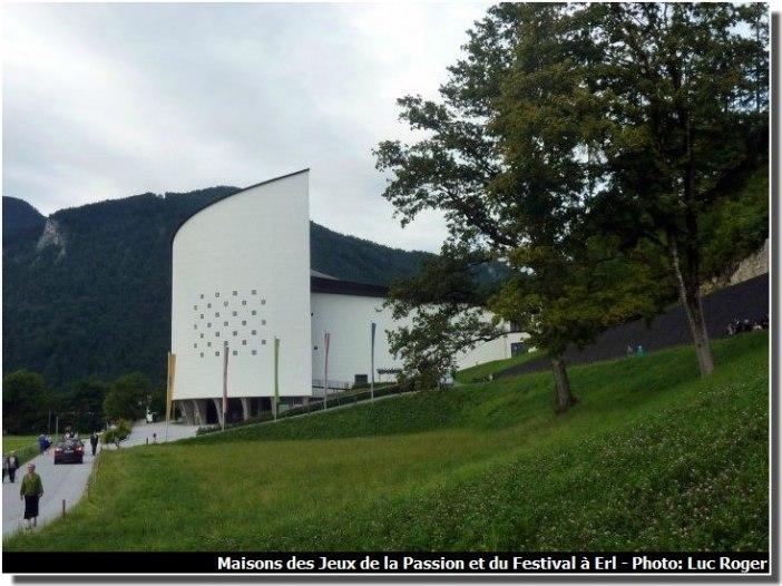 Maisons des Jeux de la Passion et du Festival à Erl