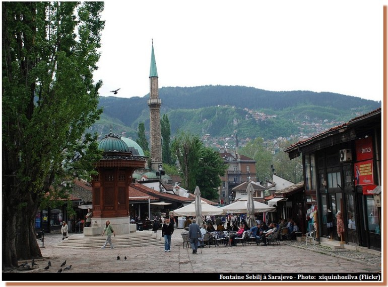 Sarajevo fontaine Sebilj