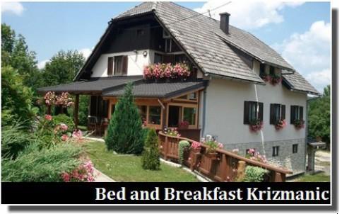 bed and breakfast krizmanic plitvice
