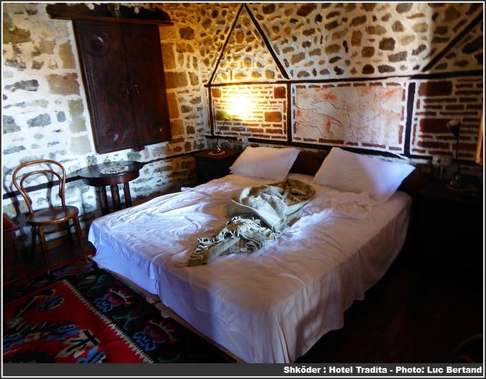 Chambre hotel Tradita Shkoder