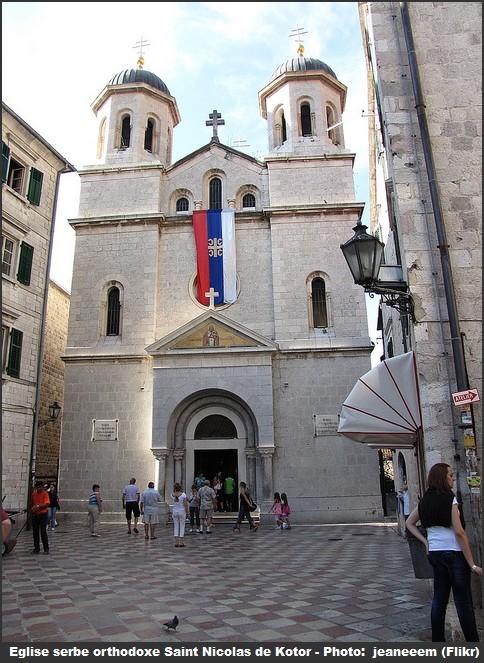 Kotor eglise serbe orthodoxe Saint Nicolas