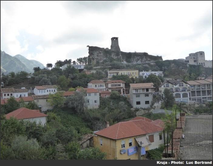 Kruja en Albanie