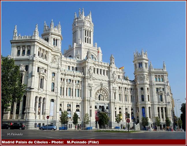 Madrid Palais de Cibeles