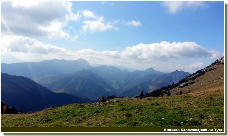 Paysage prealpes bavaroises au Tyrol