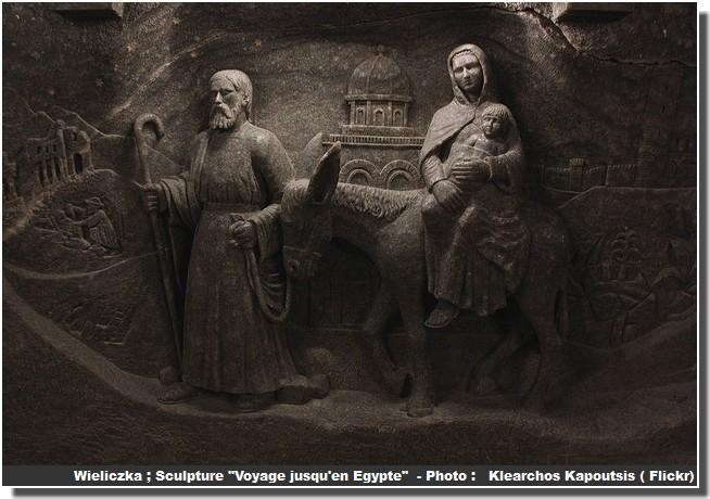 Wieliczka sculpture voyage jusqu'en egypte