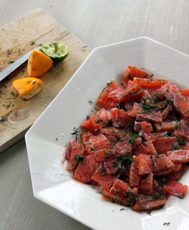 saumon gravlax suedois