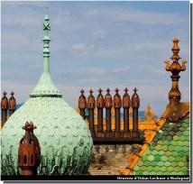 Budapest Art nouveau Lechner