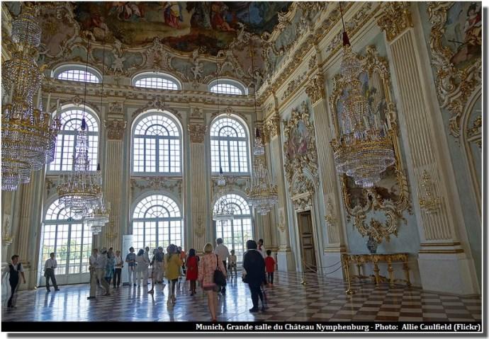 Chateau Nymphenburg grande salle