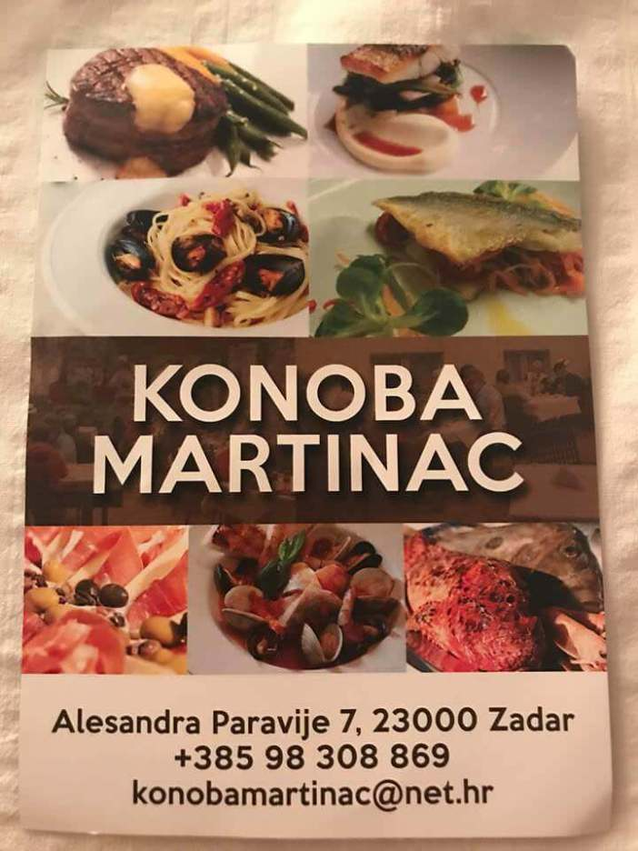 Konoba Martinac Zadar