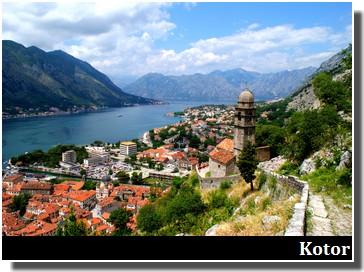 Kotor bouches de kotor excursions depuis la croatie