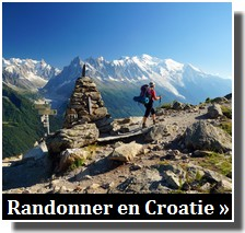 randonnées en croatie