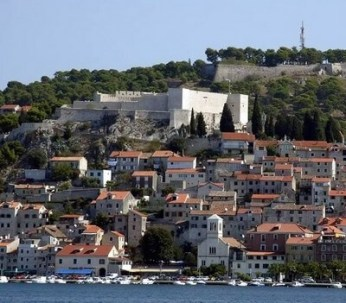 Sibenik Citadelle Sainte Anne