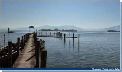 Jetée Lac chiemsee