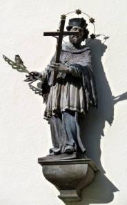 Mittenwald statue