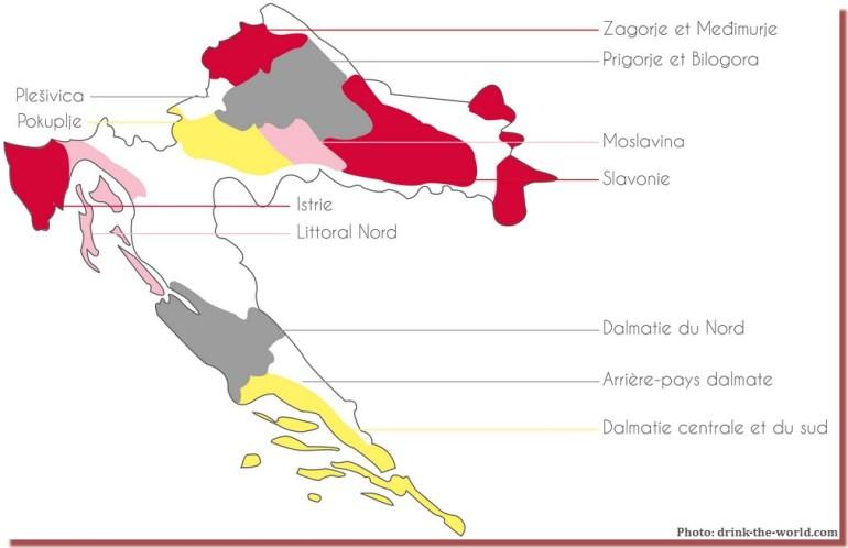 carte des vins croates