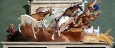 mittenwald façade peinte chèvres