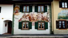 mittenwald façade peinte