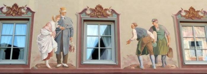 mittenwald facade trompe l'oeil