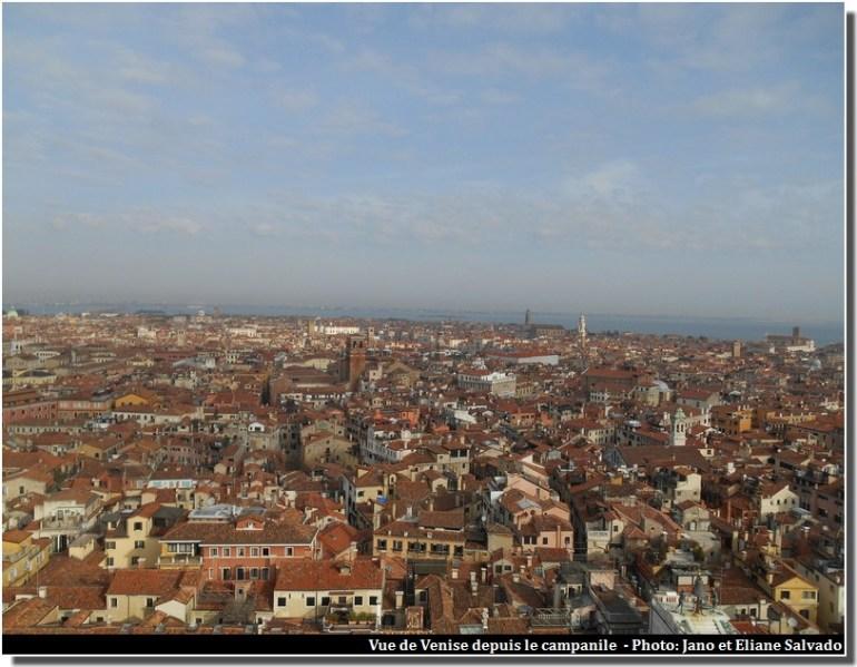 vue de Venise depuis le campanile
