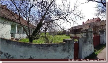 Dec (serbie) ferme mur