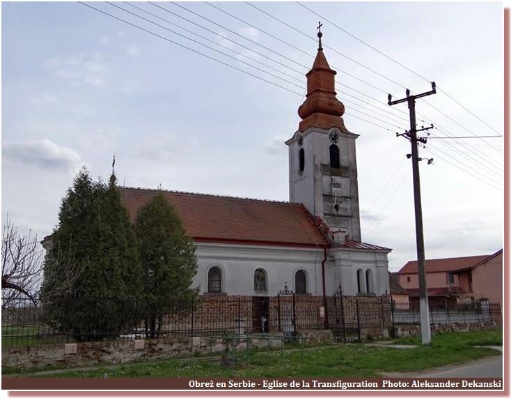 Eglise de la Transfiguration Obrez Serbie