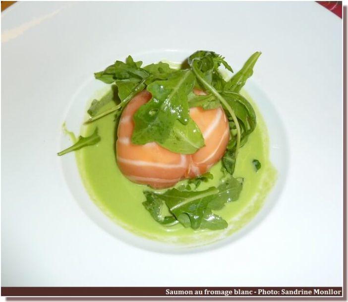 Restaurant le Four Castelnaudary saumon au fromage frais
