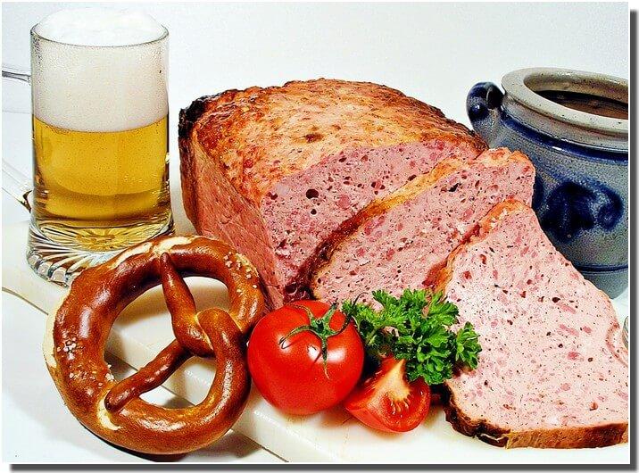 leberkase fromage de foie bavarois