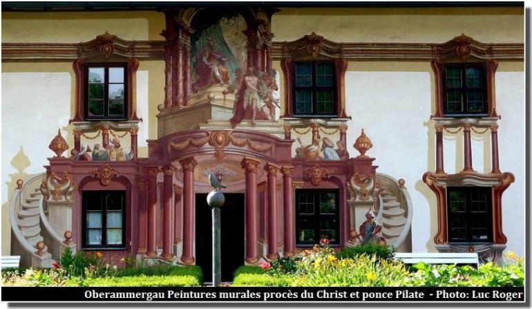 Oberammergau, un beau village typique aux façades peintes en Bavière 8