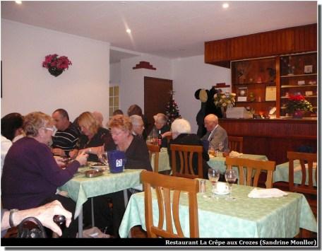 salle restaurant La crêpe les crozes