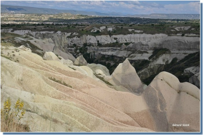 Paysages vers Uchisar Cappadoce