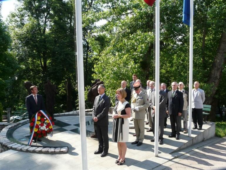 Sarajevo monument à la mémoire des militaires français morts pour la France