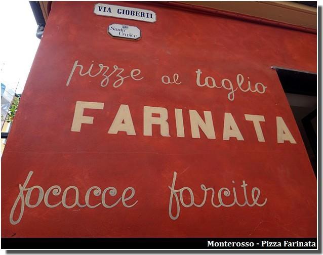 monterosso pizza farinata farcite focacce