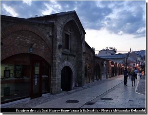 sarajevo Gazi Husrev Begov bazar