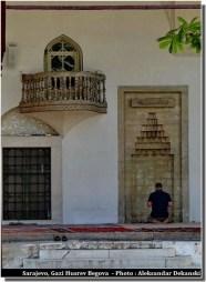 sarajevo mosquée prière