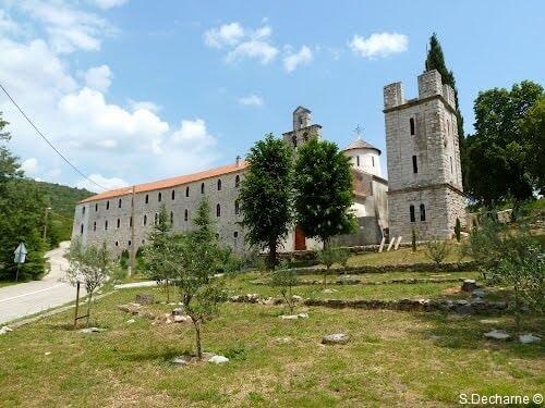 Monastère de Krupa en Croatie