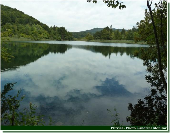 Un des lacs de Plitvice