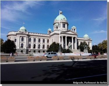 Belgrade parlement de serbie