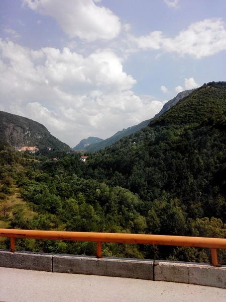 route en bosnie