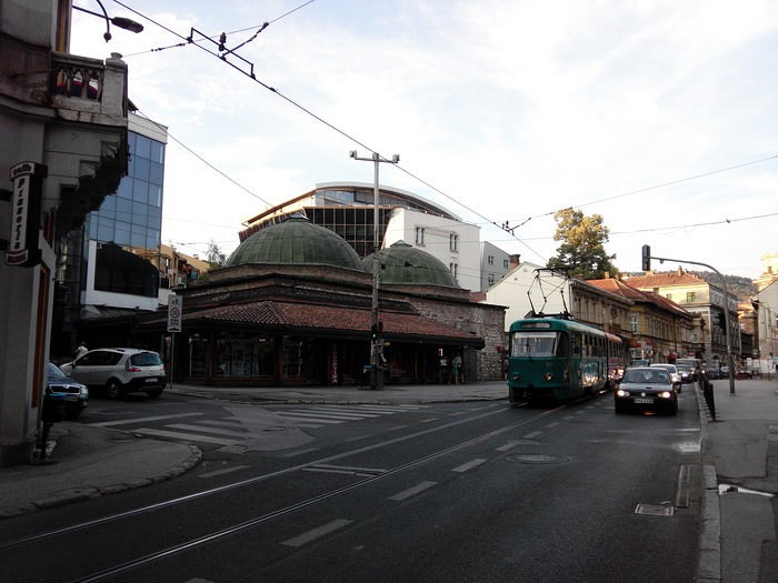 tram en Bosnie